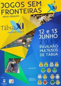 Jogos Sem Fronteiras Tábua 2015