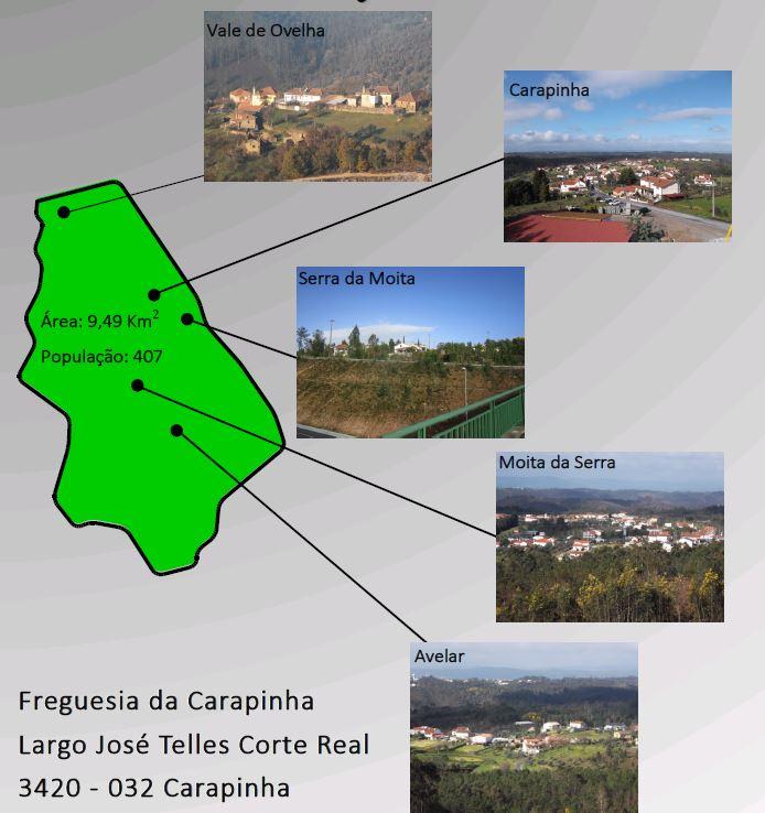 Localização Freguesia de Carapinha