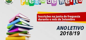 Prémio de Mérito 2018/2019